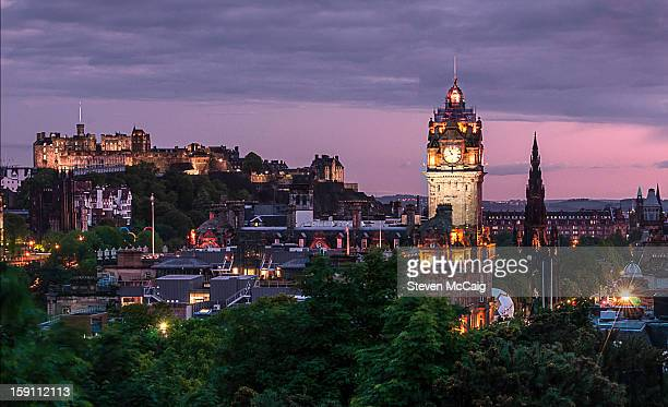Edinburgh Skyline by Night