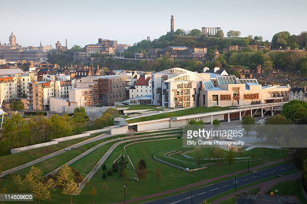 Edinburgh Skyline, Scottish Parliament