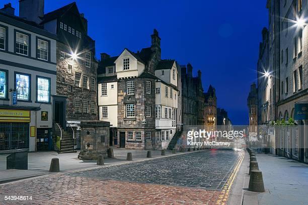 edinburgh - the royal mile - new town edinburgh fotografías e imágenes de stock