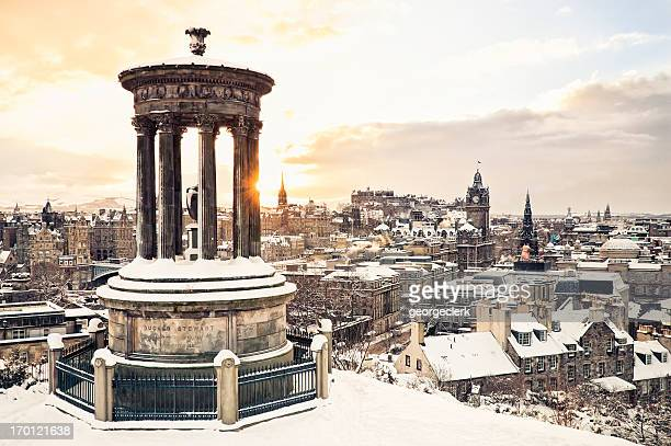 Edinburgh Under Snow