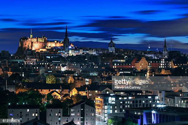 Edinburgh - View of Old Town from Radical Road