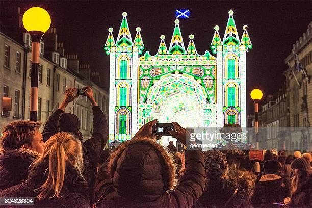 Edinburgh's Christmas and Hogmanay attractions