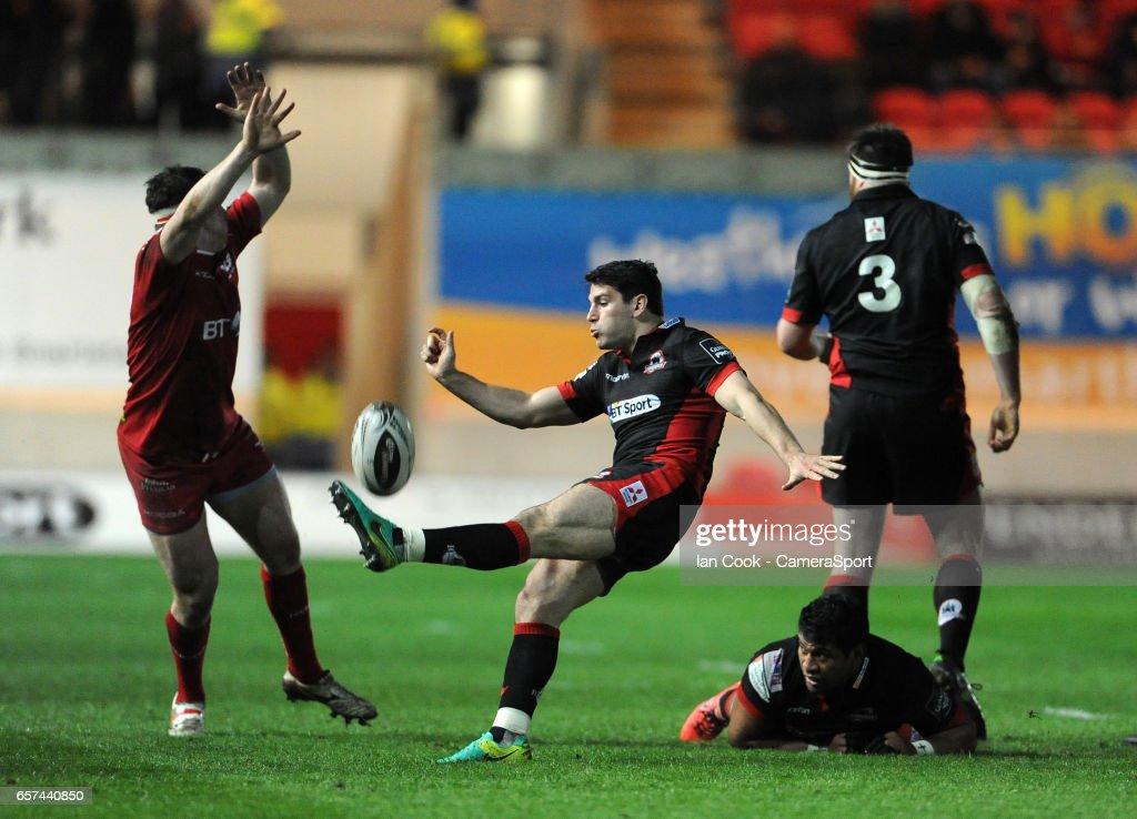 Scarlets v Edinburgh Rugby - Guinness Pro12