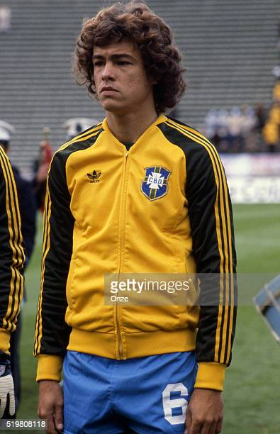Edinho during the match between Brazil and Sweden played at Mar Del Plata Argentina on June 3rd 1978