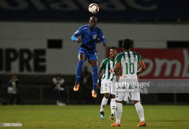 Edinho of CD Feirense in action during the Liga NOS match between Vitoria FC and CD Feirense at Estadio do Bonfim on November 9 2018 in Setubal...