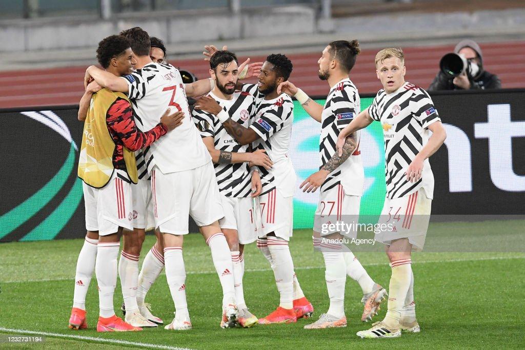 AS Roma v Manchester United - UEFA Europa League : News Photo
