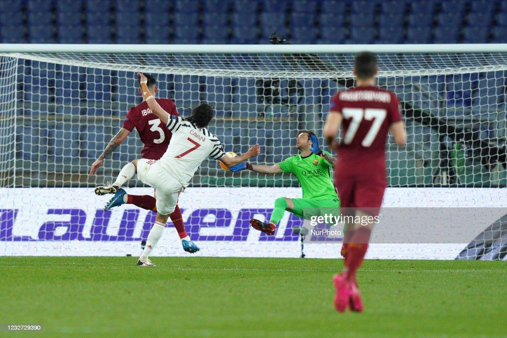 AS Roma v Manchester United - UEFA Europa League : ニュース写真