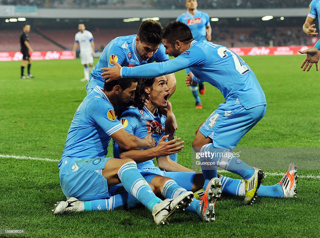 SSC Napoli v FC Dnipro Dnipropetrovsk - UEFA Europa League