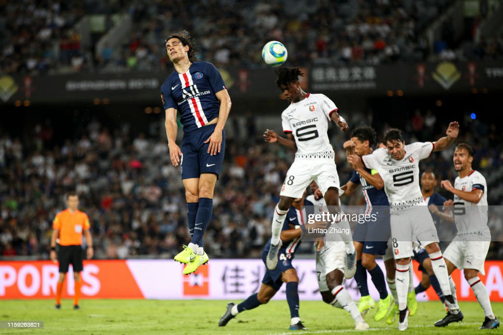 Paris Saint-Germain v Stade Rennais FC - 2019 TrophÈe des Champions : News Photo
