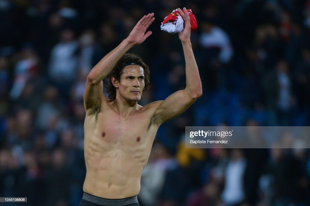 Edinson Cavani Of Psg Celebrates After The Final Whistle During The News Photo Getty Images