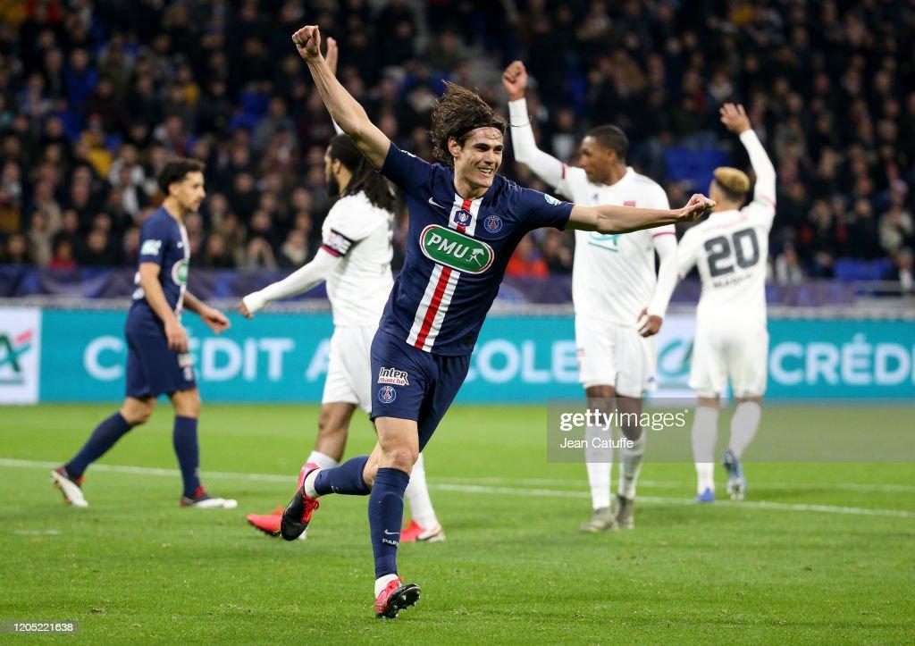 Olympique Lyonnais v Paris Saint-Germain - French Cup Semi Final : News Photo
