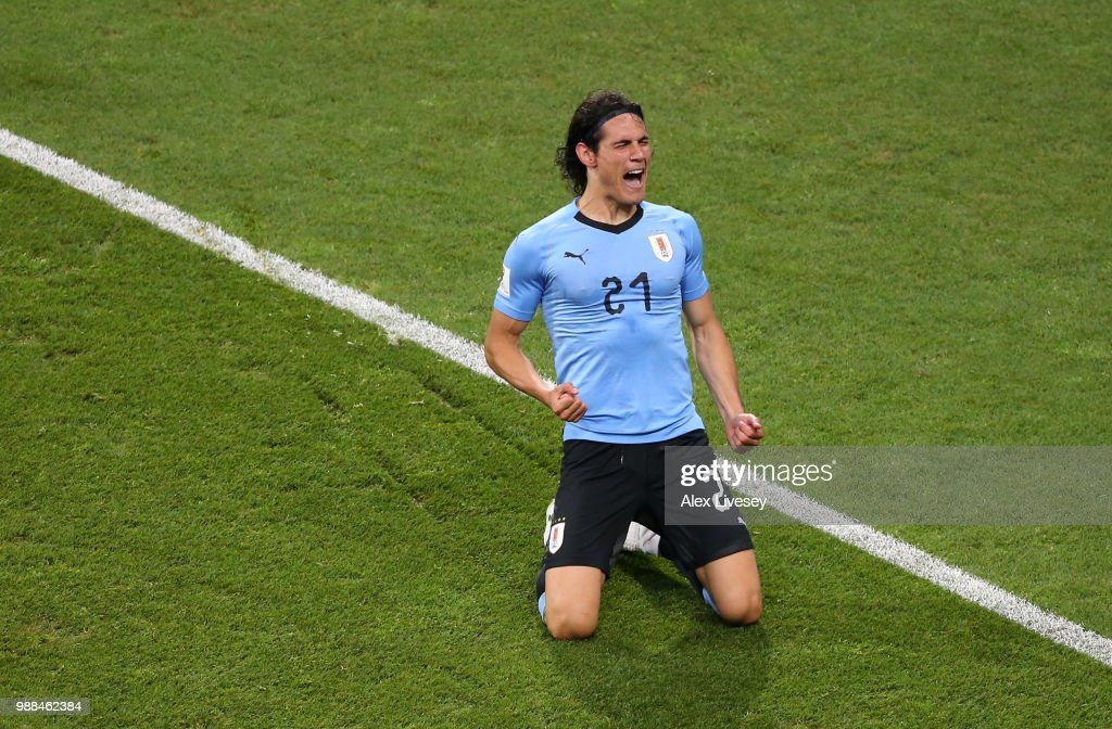 Uruguay v Portugal : Round of 16 - 2018 FIFA World Cup Russia : News Photo