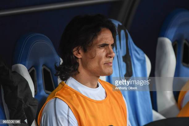 Edinson Cavani of Uruguay during 2018 FIFA World Cup Quarter Final match between France and Uruguay at Nizhniy Novgorod Stadium on July 6 2018 in...