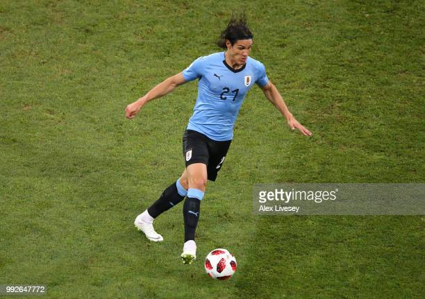 Edinson Cavani of Uruguay during the 2018 FIFA World Cup Russia Round of 16 match between 1st Group A and 2nd Group B at Fisht Stadium on June 30...