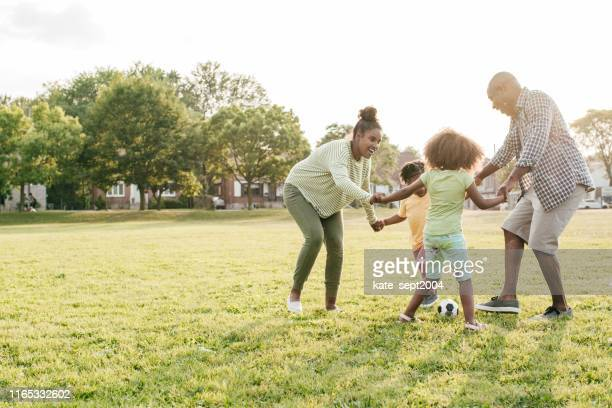 ediscovering nature with your family - stepfamily stock photos and pictures