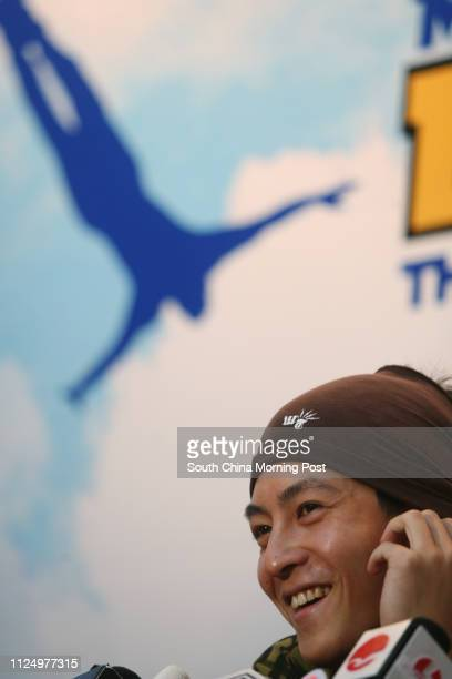 Edison Chen attends the press conference of Macau Tower launches The World's Highest Commercial Bungy Jump Shun Tak Centre 12 December 2006