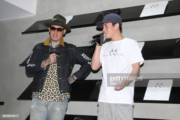 Edison Chen promotes his fashion brand on 22th September 2017 in Taipei Taiwan China