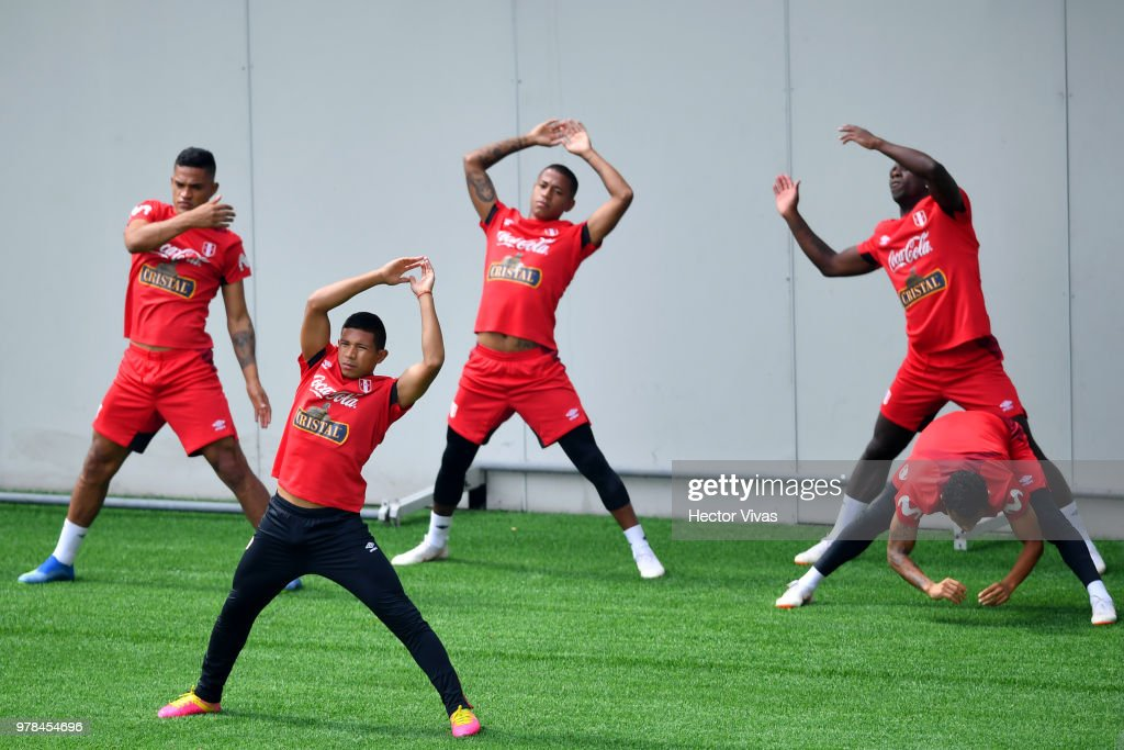 Peru Training Session - FIFA World Cup Russia 2018