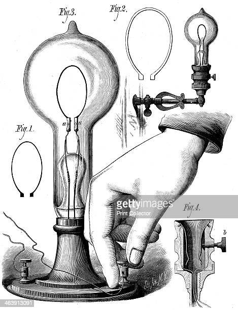 Edison's carbon filament lamp 1880 Thomas Alva Edison American physicist and inventor produced the first successful electric light bulb His first...