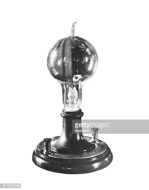 Edison's first light bulb Undated photpgraph BPA2