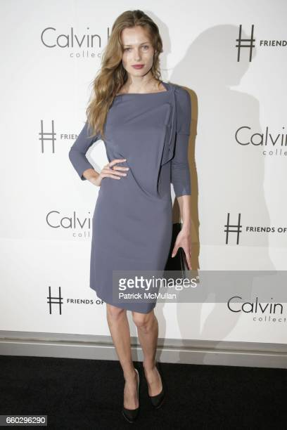 Edita Vilkeviciute attends Calvin Klein Collection Presents 'First Party on the Highline' at The High Line on June 15 2009 in New York City