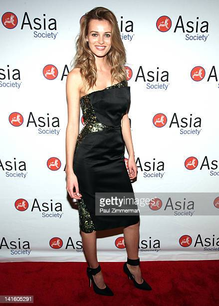 Edita Vilkeviciute attends the 2012 Asia Society Dinner and Dance gala at The Plaza Hotel on March 19 2012 in New York City