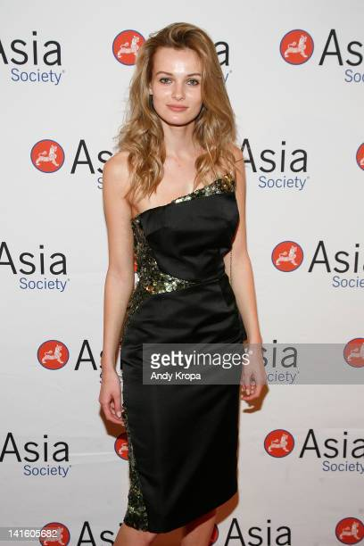 Edita Vilkeviciute attends the 2012 Asia Society Dinner and Dance gala at The Plaza Hotel on March 19, 2012 in New York City.