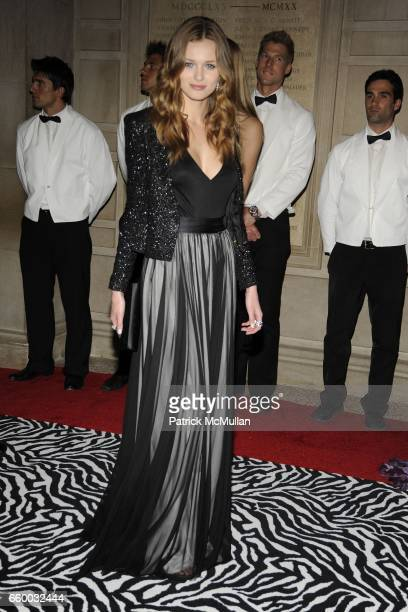 Edita Vilkeviciute attends THE COSTUME INSTITUTE GALA 'The Model As Muse' with Honorary Chair MARC JACOBS INSIDE at The Metropolitan Museum of Art on...