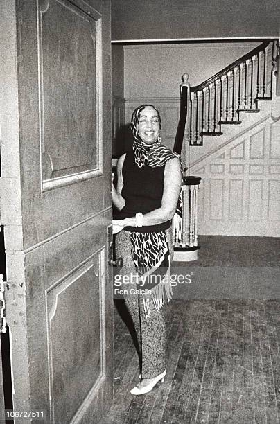 Edith Bouvier Beale at home in Grey Gardens in Georgica Pond East Hampton New York September 1 1972