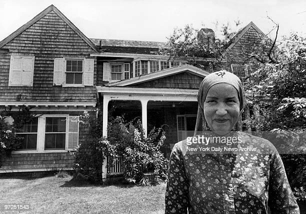 Edith Bouvier Beale at West End Road in East Hampton LI