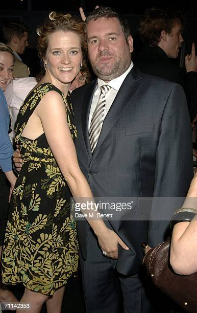 Edith Bowman and Chris Moyles attend the Glamour Women Of The Year Awards the annual awards recognising the achievement of women with categories...