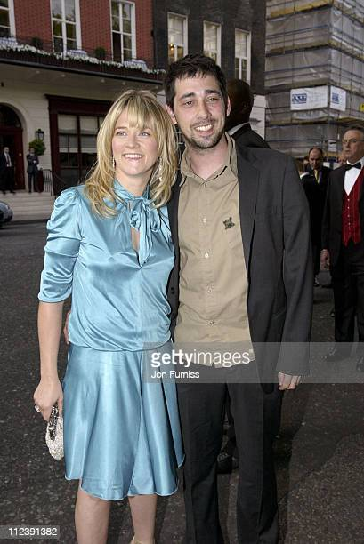 Edith Bowman and Colin Murray during 2005 Glamour Women of the Year Awards Outside Arrivals at Berkeley Square in London Great Britain