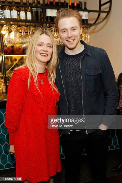 Edith Bowman and Jack Lowden attend the Into Film Awards at Odeon Luxe Leicester Square on March 04 2019 in London England