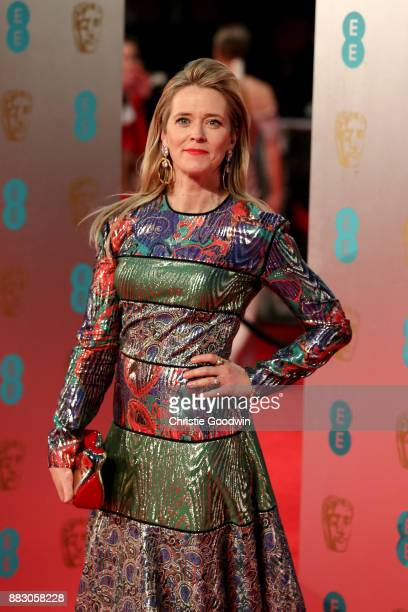Edith Bowman at the British Academy Film Awards 2017 at The Royal Albert Hall on February 12 2017 in London England