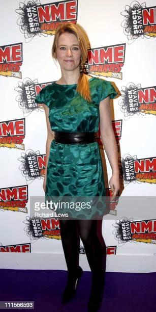 Edith Bowman at the Shockwaves NME Awards 2006 during Shockwaves NME Awards 2006 Inside Arrivals at Hammersmith Palais in London Great Britain
