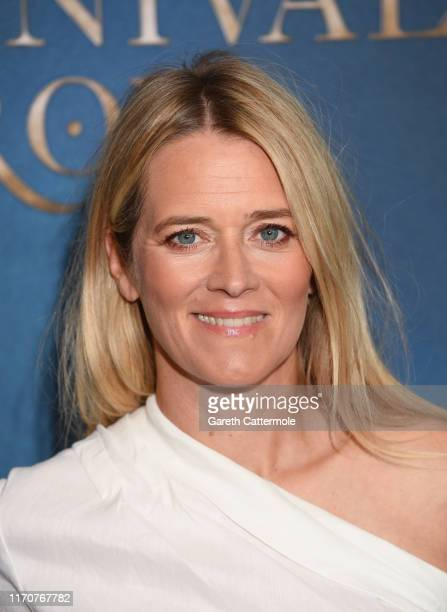 Edith Bowman attends the Amazon Original series Carnival Row London Screening at The Ham Yard Hotel on August 28 2019 in London England