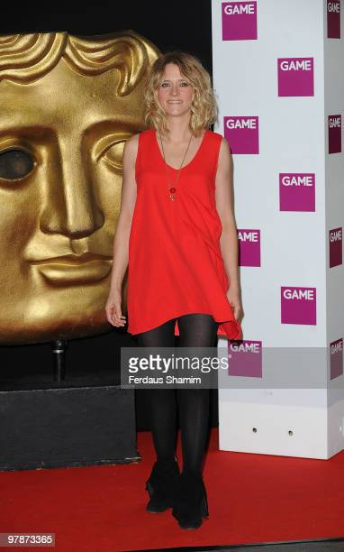 Edith Bowman attends the BAFTA Video Games Awards at London Hilton on March 19 2010 in London England
