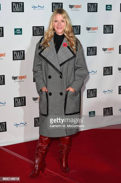 Edith Bowman attends the Birmingham Premiere of Peaky Blinders at cineworld on October 30 2017 in Birmingham England