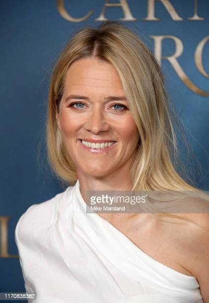 Edith Bowman attends the Carnival Row London Premiere at The Ham Yard Hotel on August 28 2019 in London England