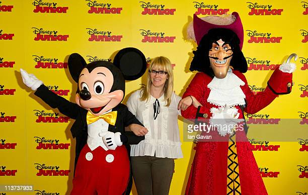 Edith Bowman attends the Disney Junior launch party at the Museum of Childhood on May 5 2011 in London England Disney Junior a new television channel...