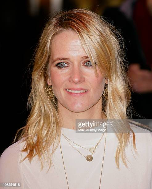 Edith Bowman attends the 'Due Date' Premiere at The Empire Cinema Leicester Square on November 3 2010 in London England