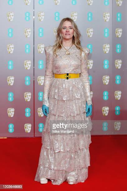 Edith Bowman attends the EE British Academy Film Awards 2020 at Royal Albert Hall on February 02 2020 in London England