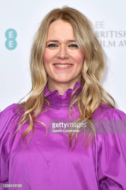 Edith Bowman attends the EE British Academy Film Awards 2020 Nominees' Party at Kensington Palace on February 01 2020 in London England