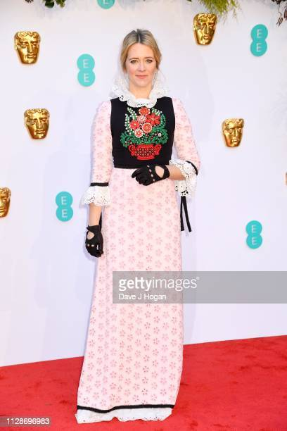 Edith Bowman attends the EE British Academy Film Awards at Royal Albert Hall on February 10 2019 in London England