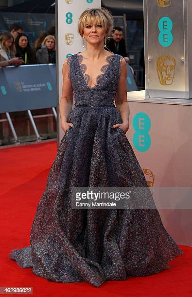 Edith Bowman attends the EE British Academy Film Awards at The Royal Opera House on February 8 2015 in London England