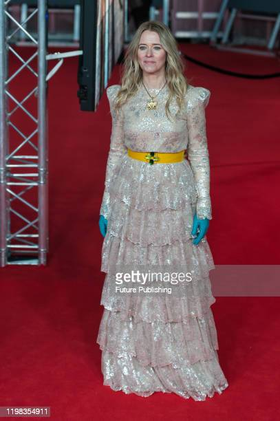 Edith Bowman attends the EE British Academy Film Awards ceremony at the Royal Albert Hall on 02 February 2020 in London England PHOTOGRAPH BY Wiktor...