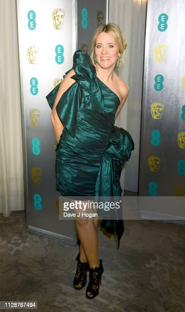 Edith Bowman attends the EE British Academy Film Awards Gala Dinner at Grosvenor House on February 10 2019 in London England