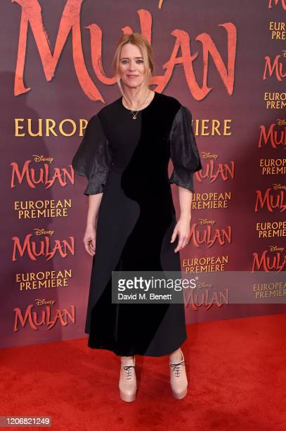 Edith Bowman attends the European Premiere of Mulan at Odeon Luxe Leicester Square on March 12 2020 in London England
