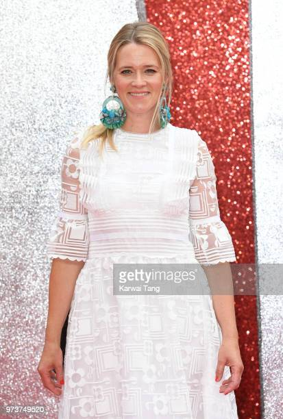 Edith Bowman attends the European Premiere of 'Ocean's 8' at Cineworld Leicester Square on June 13 2018 in London England