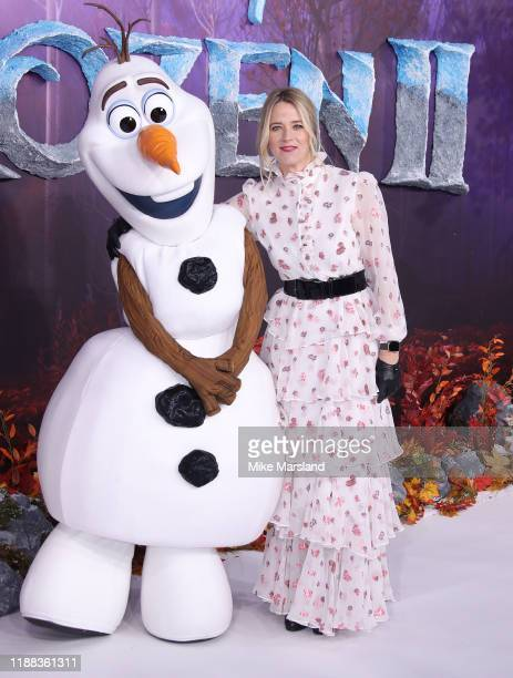 Edith Bowman attends the Frozen 2 European premiere at BFI Southbank on November 17 2019 in London England